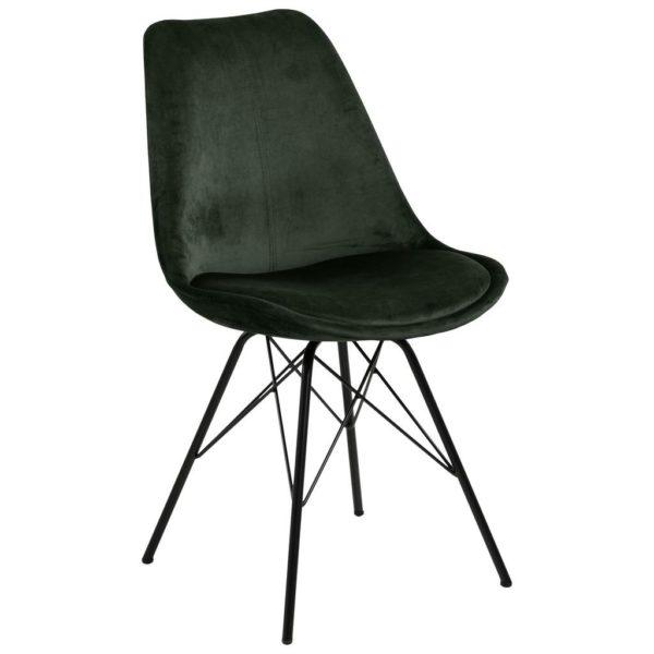 Jídelní Židle Eris Tmavě Zelená