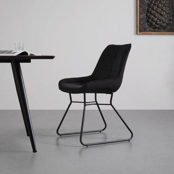 Jídelní Židle Marina Černá