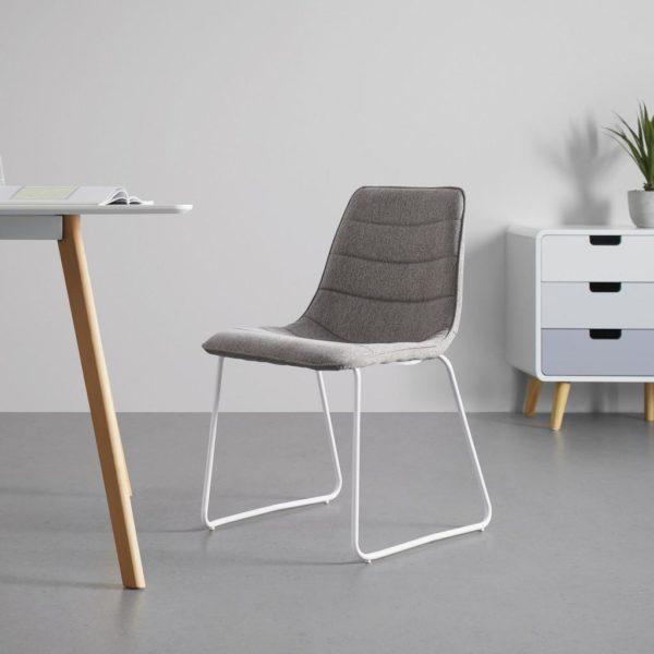 Jídelní Židle Mira Šedá