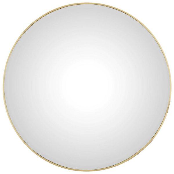 Nástěnné Zrcadlo Konkav Zlatá 60 Cm