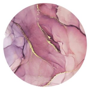 Obraz Na Plátně Clouds In Rosé