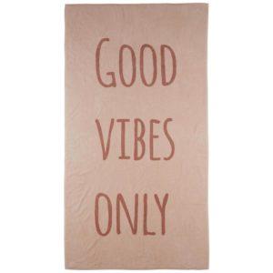 Plážová Osuška Good Vibes Only
