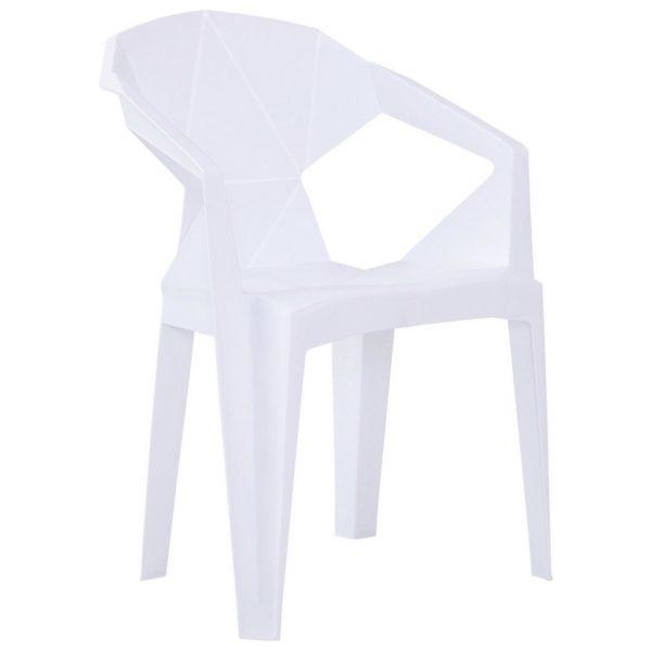 Plastová Židle Eli Biela