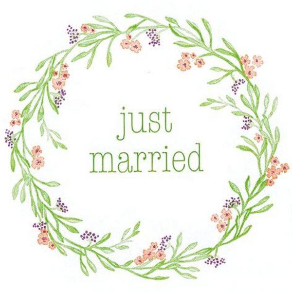 Ubrousek Just Married